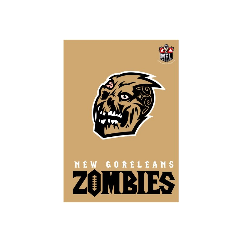 MFL New Goreleans Zombies notebook by Mutant Football League Team Store