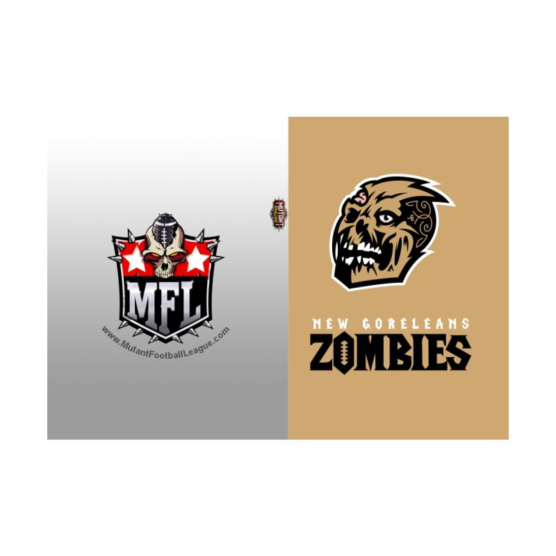 MFL New Goreleans Zombies journal by Mutant Football League Team Store