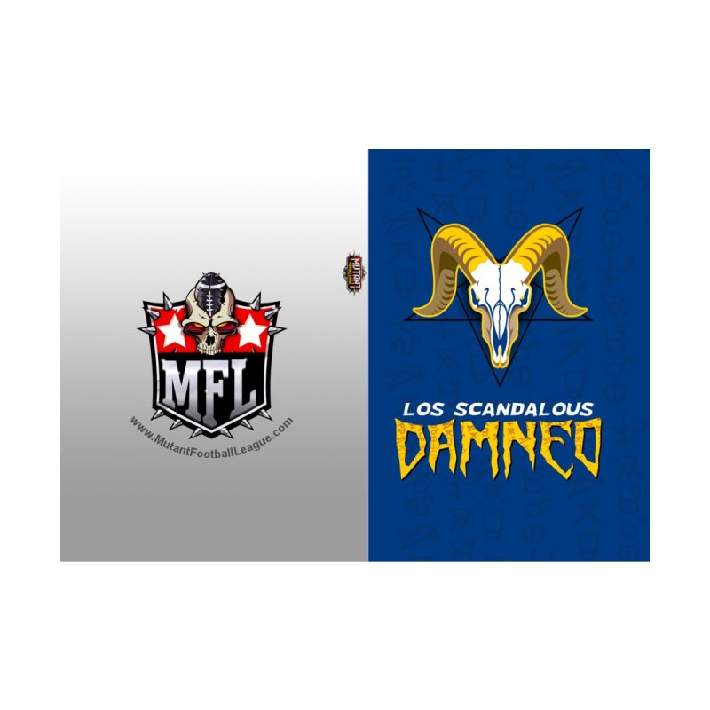 MFL Los Scandalous Damned journal by Mutant Football League Team Store