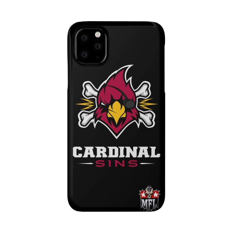 MFL Cardinal Sins phone case Accessories Phone Case by Mutant Football League Team Store