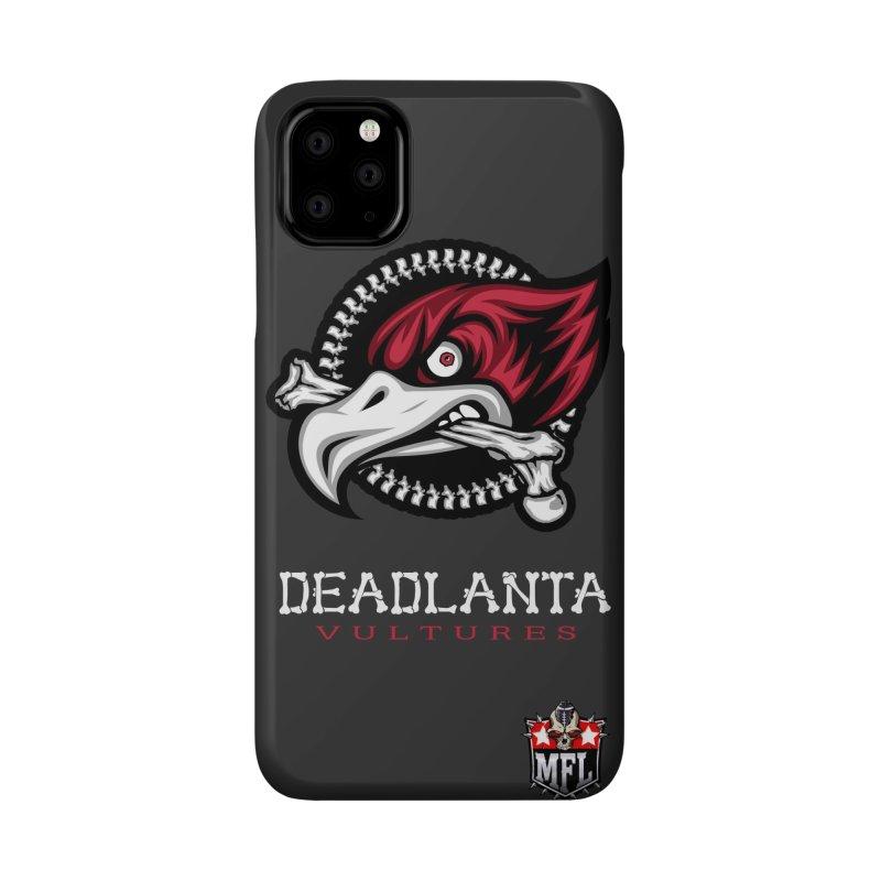 MFL Deadlanta Vultures phone case Accessories Phone Case by Mutant Football League Team Store