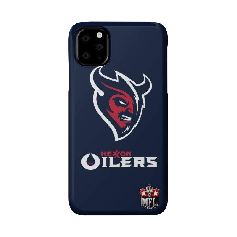 MFL Hexxon Oilers phone case Accessories Phone Case by Mutant Football League Team Store