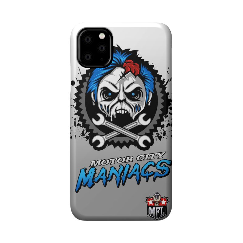 MFL Motor City Maniacs phone case Accessories Phone Case by Mutant Football League Team Store