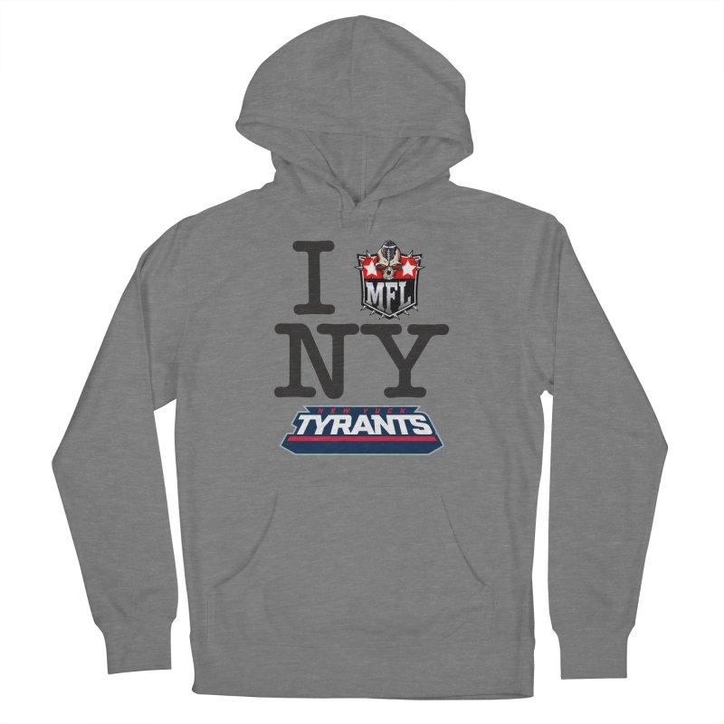 I MFLove New Yuck (Tyrants) Women's Pullover Hoody by Mutant Football League Team Store