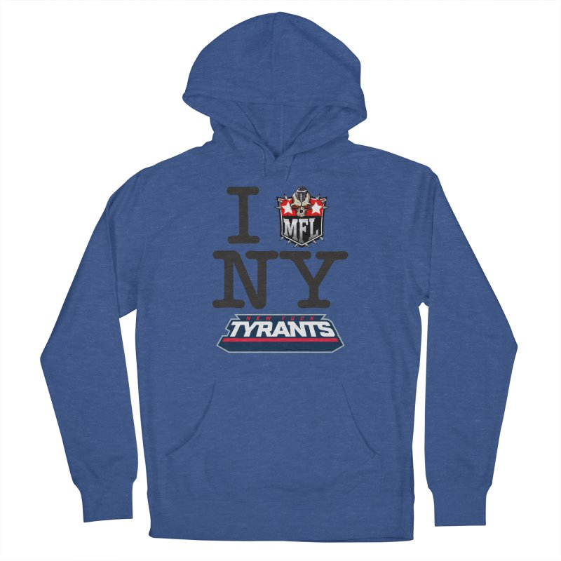 I MFLove New Yuck apparel Men's French Terry Pullover Hoody by Mutant Football League Team Store