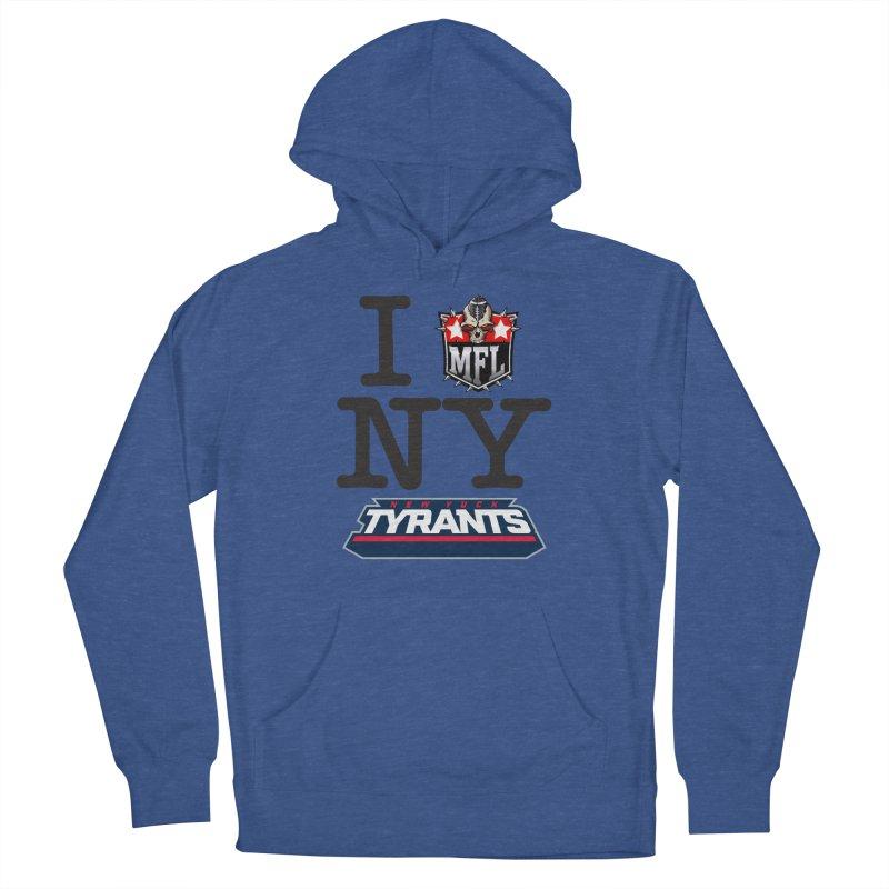 I MFLove New Yuck (Tyrants) Men's Pullover Hoody by Mutant Football League Team Store