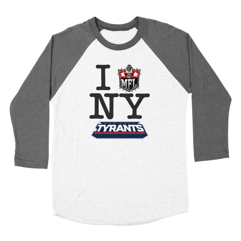 I MFLove New Yuck (Tyrants) Women's Longsleeve T-Shirt by Mutant Football League Team Store