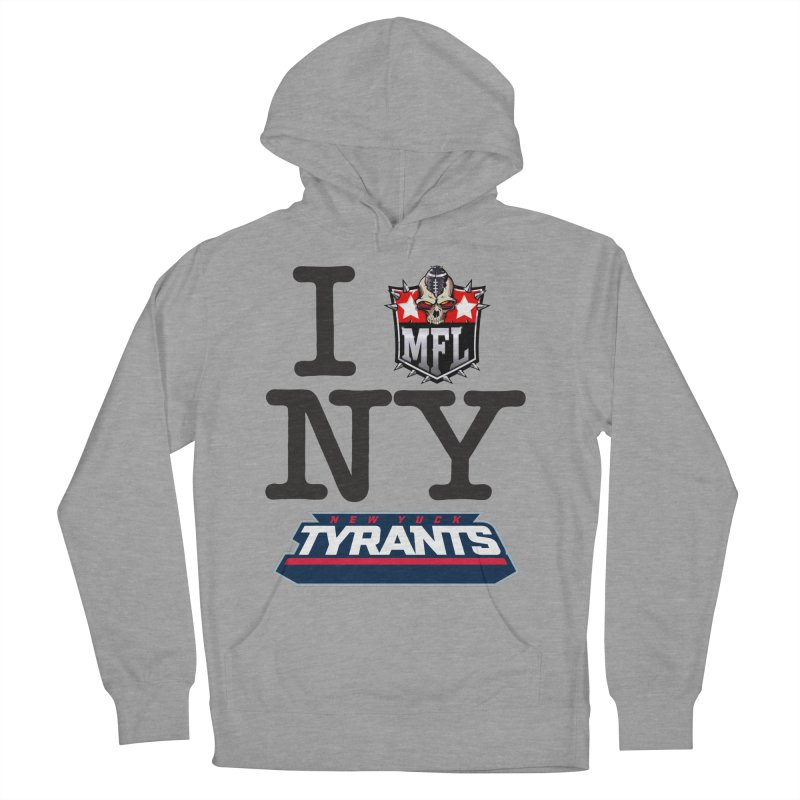 I MFLove New Yuck apparel Women's French Terry Pullover Hoody by Mutant Football League Team Store