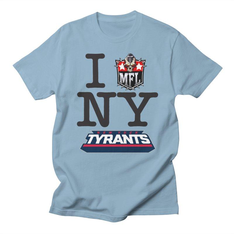 I MFLove New Yuck (Tyrants) Women's T-Shirt by Mutant Football League Team Store