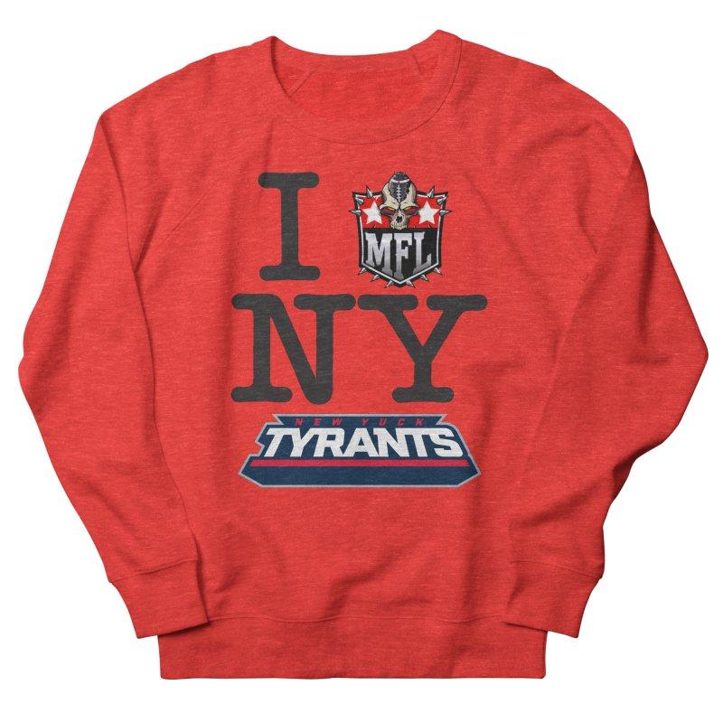 I MFLove New Yuck (Tyrants) Men's Sweatshirt by Mutant Football League Team Store