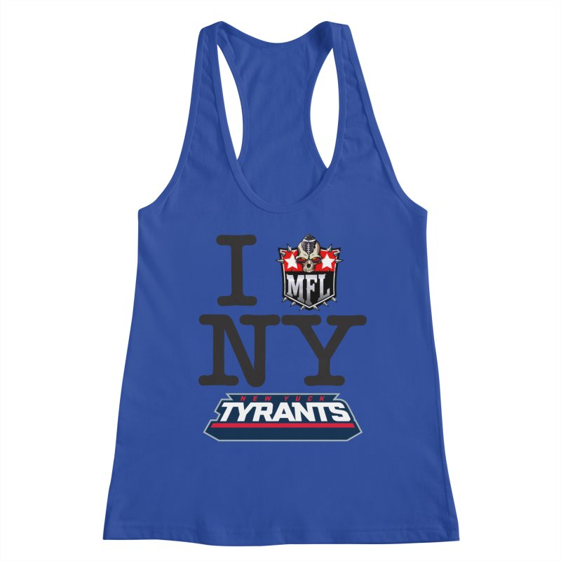 I MFLove New Yuck (Tyrants) Women's Tank by Mutant Football League Team Store