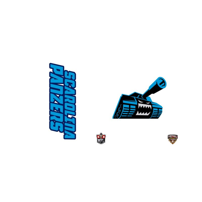 MFL Scarolina Panzers waterbottle by Mutant Football League Team Store