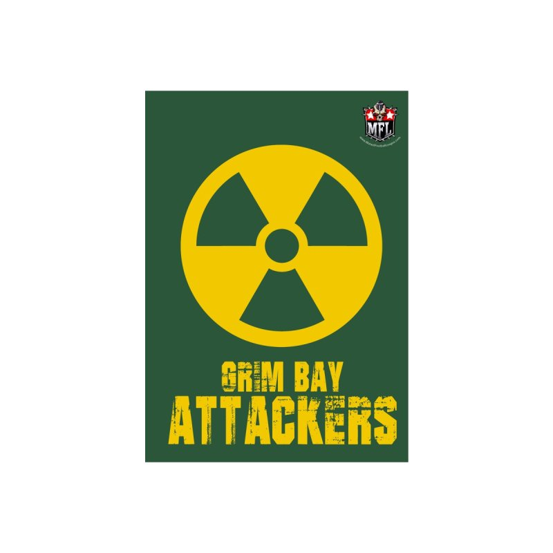 MFL Grim Bay Attackers notebook by Mutant Football League Team Store