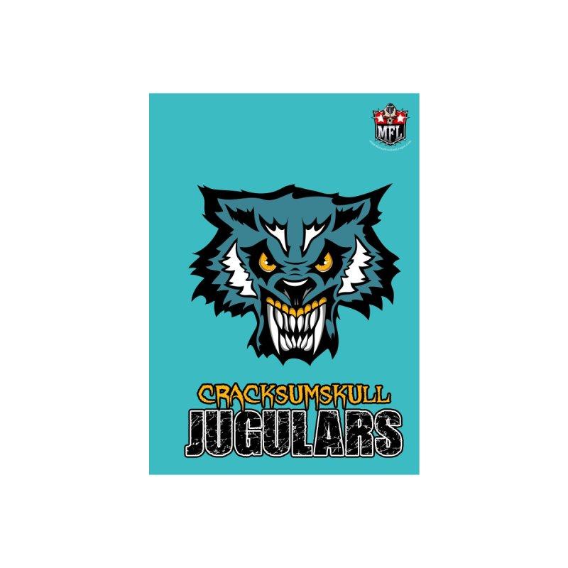 MFL Cracksumskull Jugulars notebook by Mutant Football League Team Store