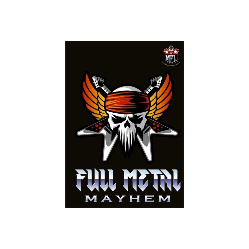 MFL Full Metal Mayhem notebook by Mutant Football League Team Store