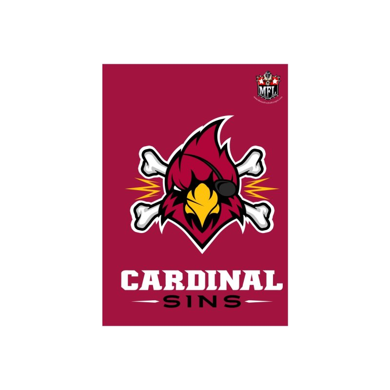 MFL Cardinal Sins notebook by Mutant Football League Team Store