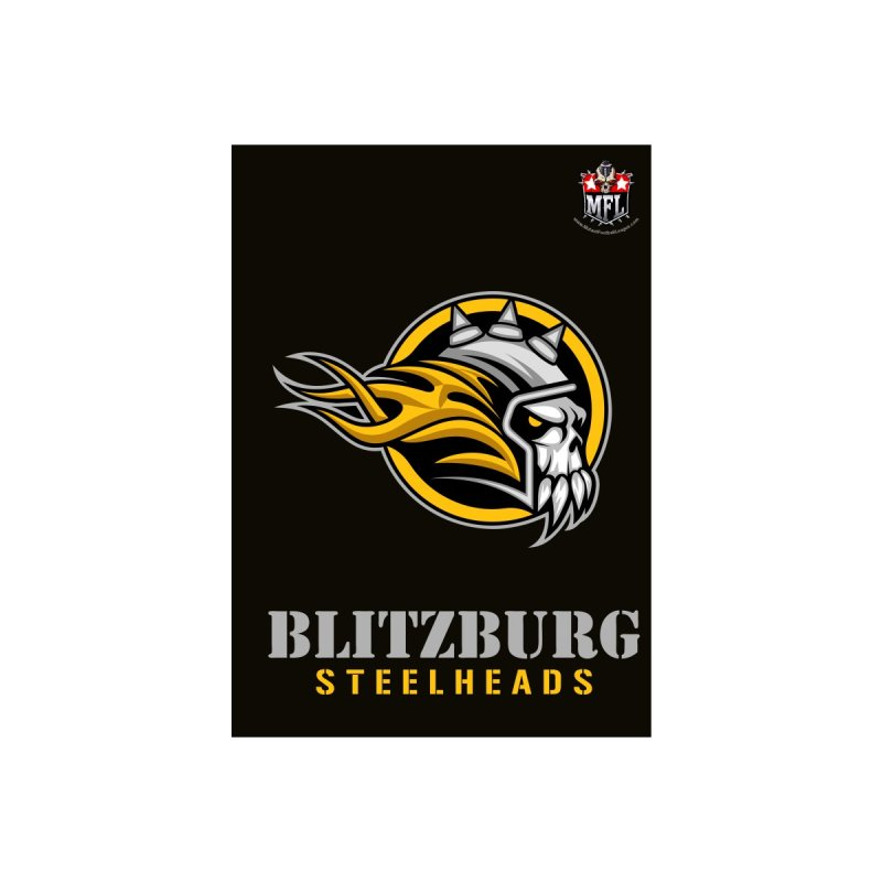MFL Blitzburg Steelheads notebook by Mutant Football League Team Store