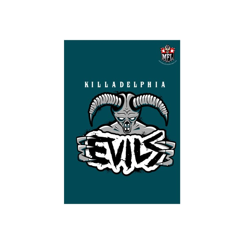 MFL Killadelphia Evils notebook by Mutant Football League Team Store