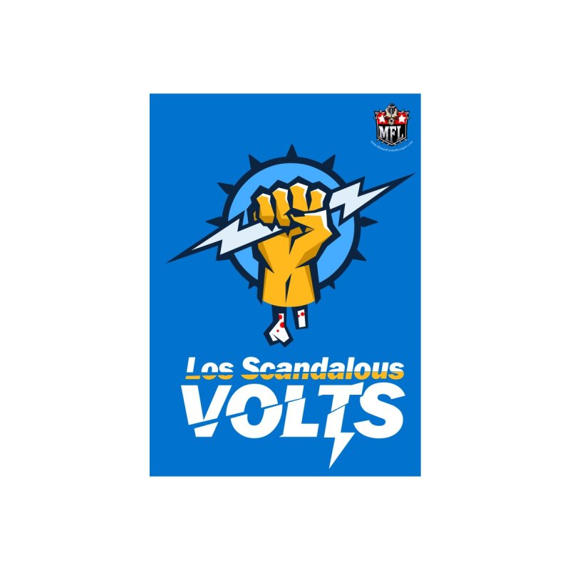 MFL Los Scandalous Volts notebook by Mutant Football League Team Store