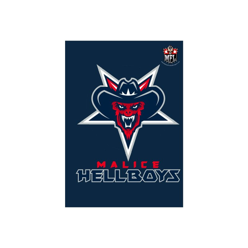 MFL Malice Hellboys notebook by Mutant Football League Team Store