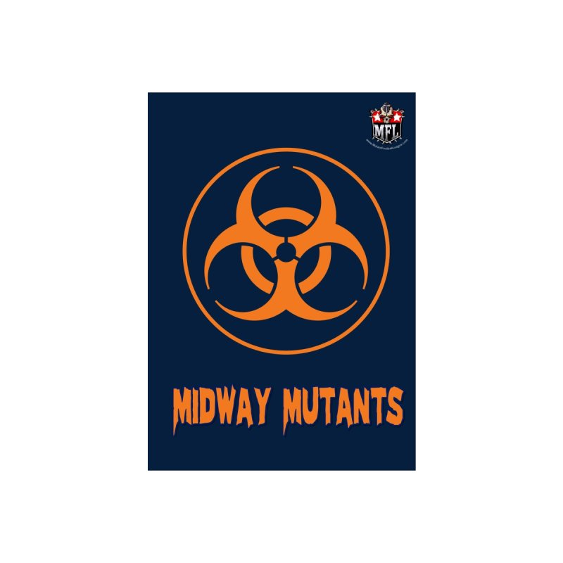 MFL Midway Mutants notebook by Mutant Football League Team Store