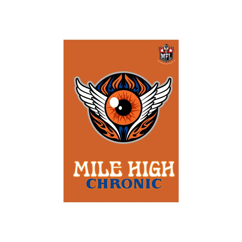 MFL Mile High Chronic notebook by Mutant Football League Team Store