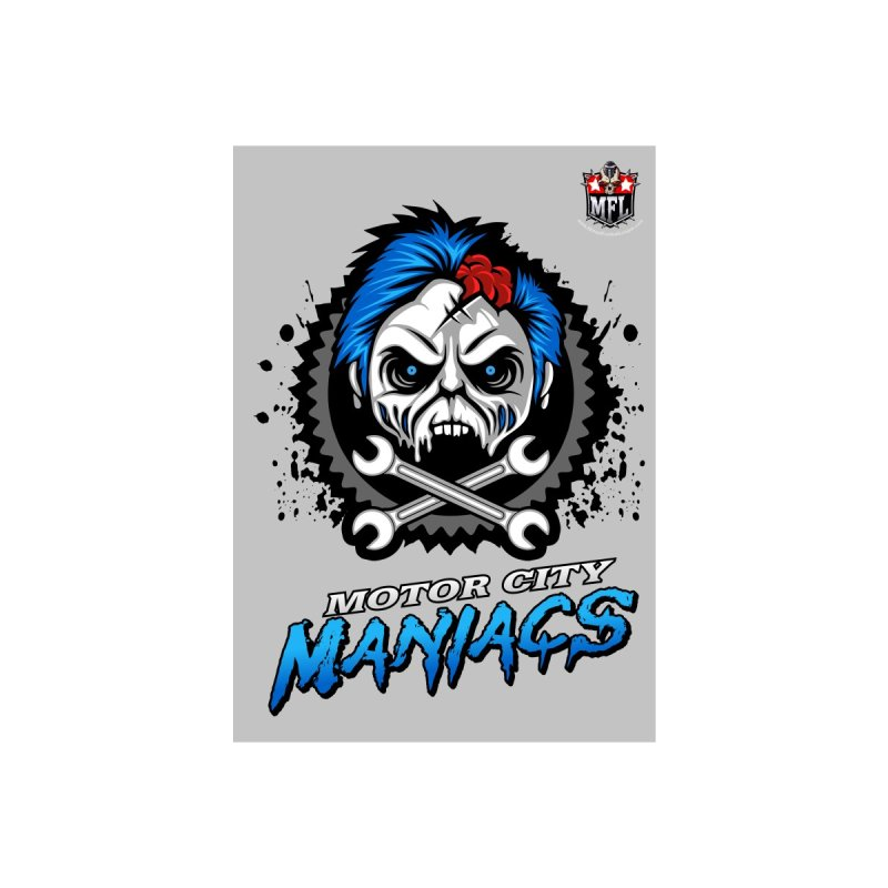 MFL Motor City Maniacs notebook by Mutant Football League Team Store