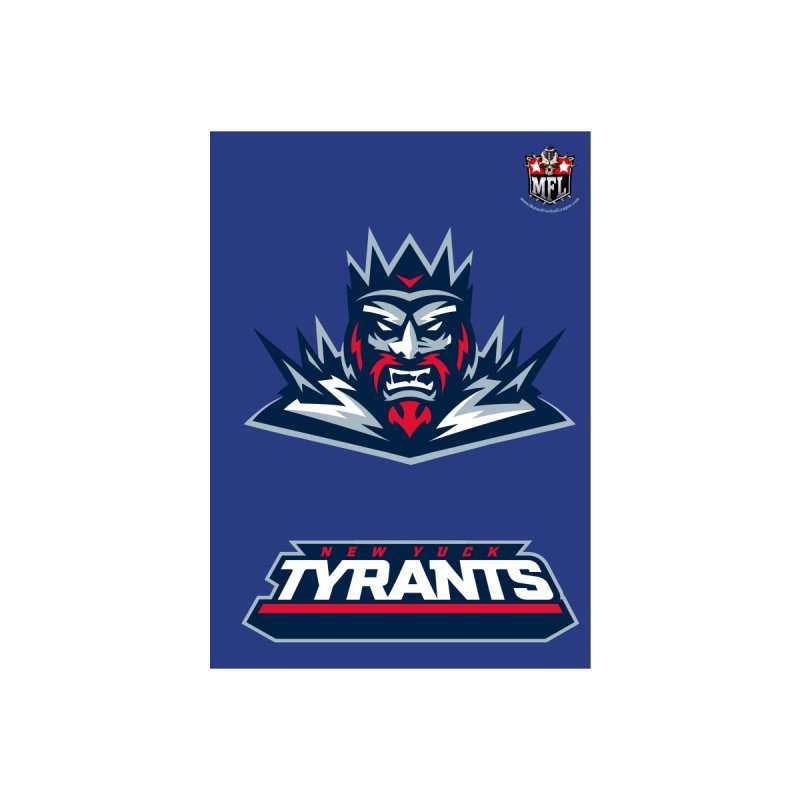 MFL New Yuck Tyrants notebook by Mutant Football League Team Store