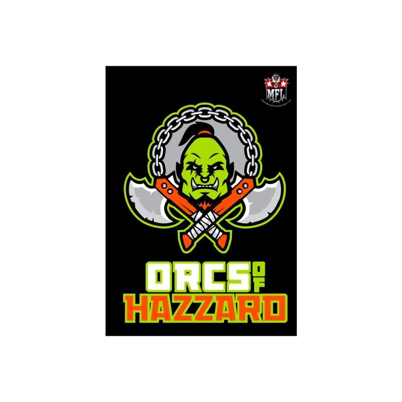 MFL Orcs of Hazzard notebook by Mutant Football League Team Store