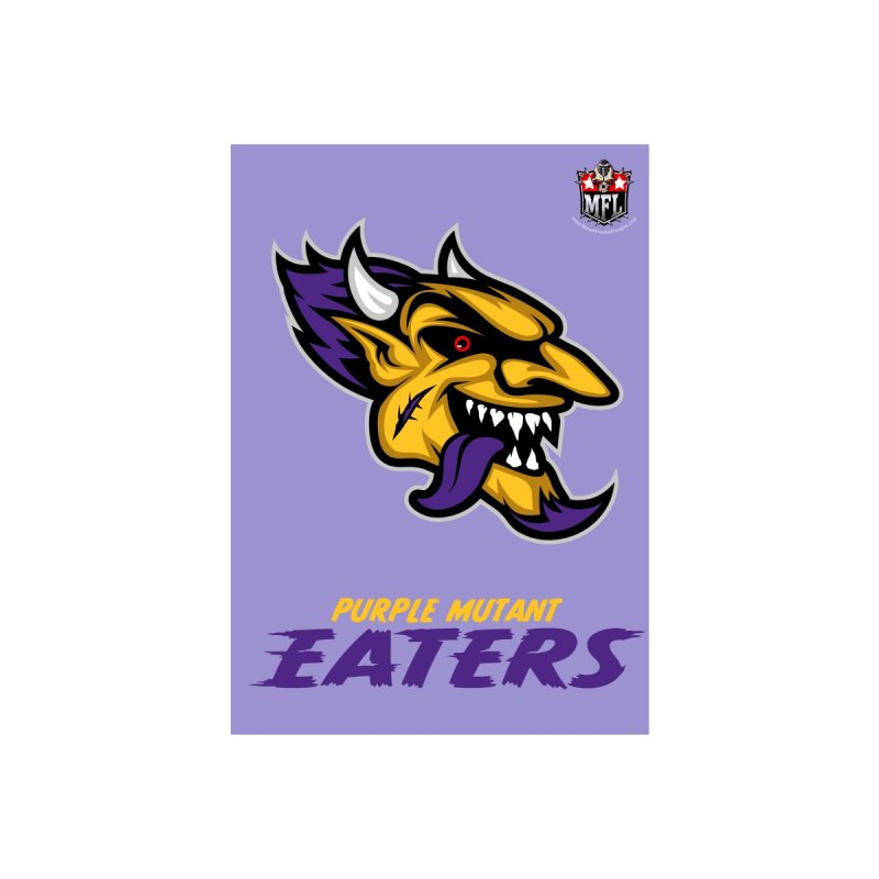 MFL Purple Mutant Eaters notebook by Mutant Football League Team Store