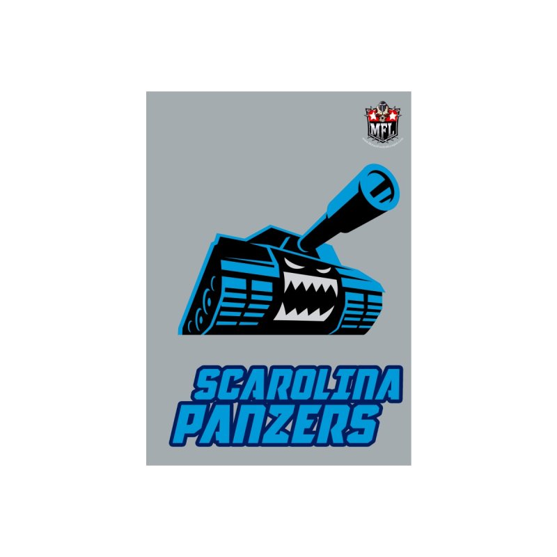 MFL Scarolina Panzers notebook by Mutant Football League Team Store
