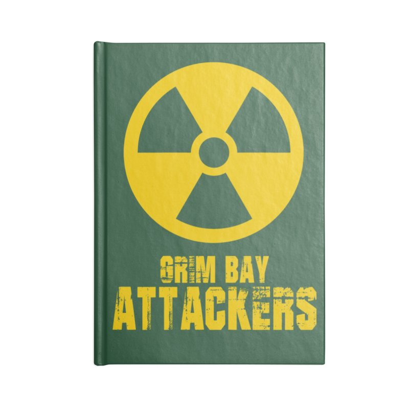 MFL Grim Bay Attackers journal Accessories Blank Journal Notebook by Mutant Football League Team Store