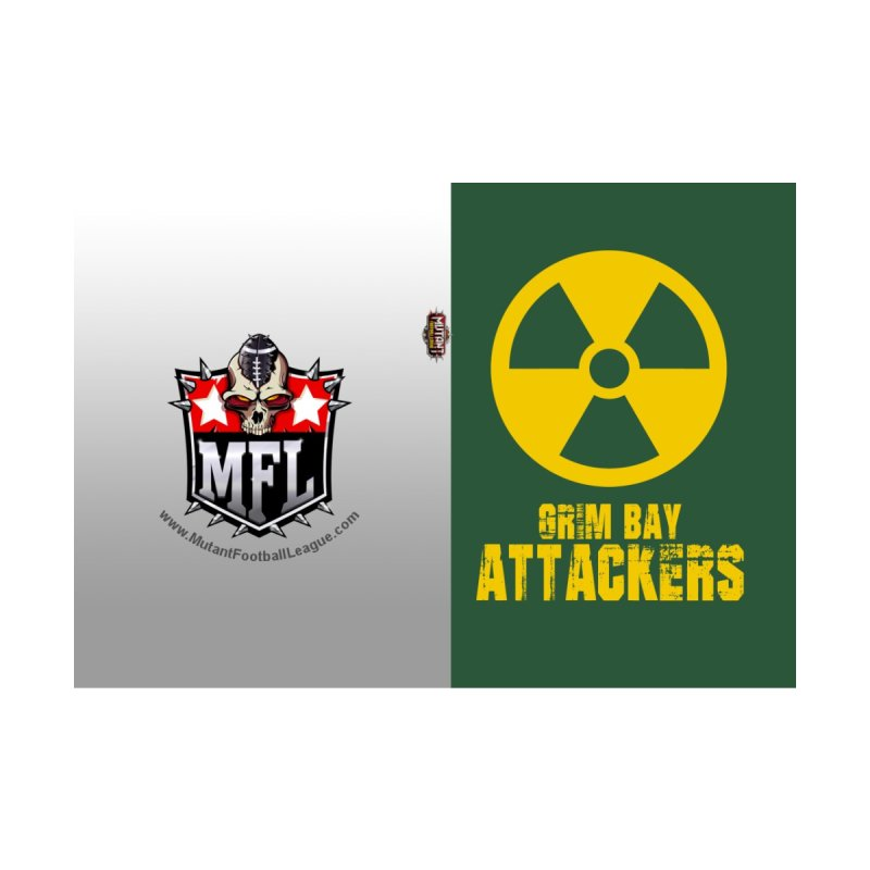 MFL Grim Bay Attackers journal by Mutant Football League Team Store
