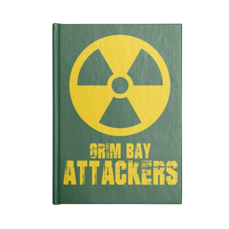 MFL Grim Bay Attackers journal Accessories Notebook by Mutant Football League Team Store