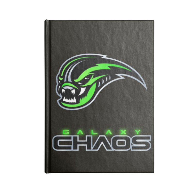 MFL Galaxy Chaos journal Accessories Notebook by Mutant Football League Team Store