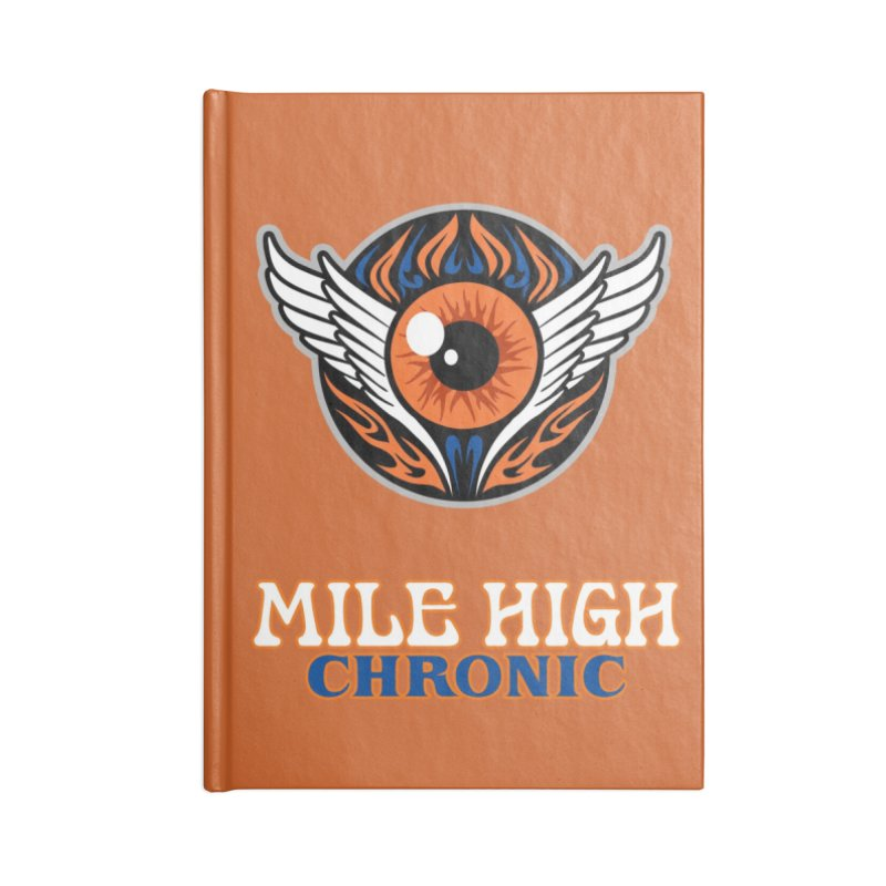 MFL Mile High Chronic journal Accessories Blank Journal Notebook by Mutant Football League Team Store
