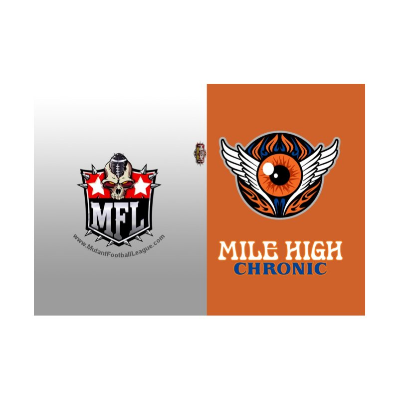 MFL Mile High Chronic journal by Mutant Football League Team Store
