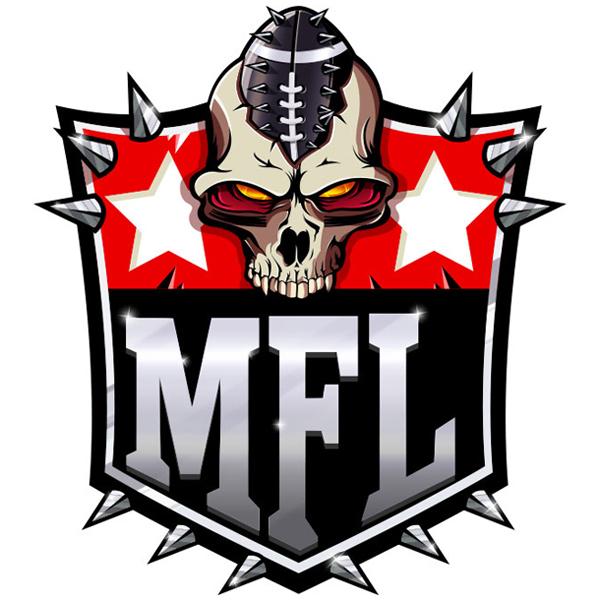 Mutant Football League Team Store Logo