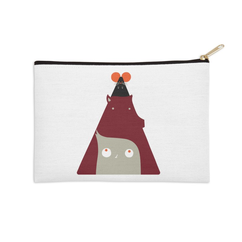 All Together Now Accessories Zip Pouch by Emporio de Mutanthands