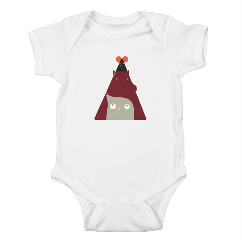 All Together Now Kids Baby Bodysuit by Emporio de Mutanthands
