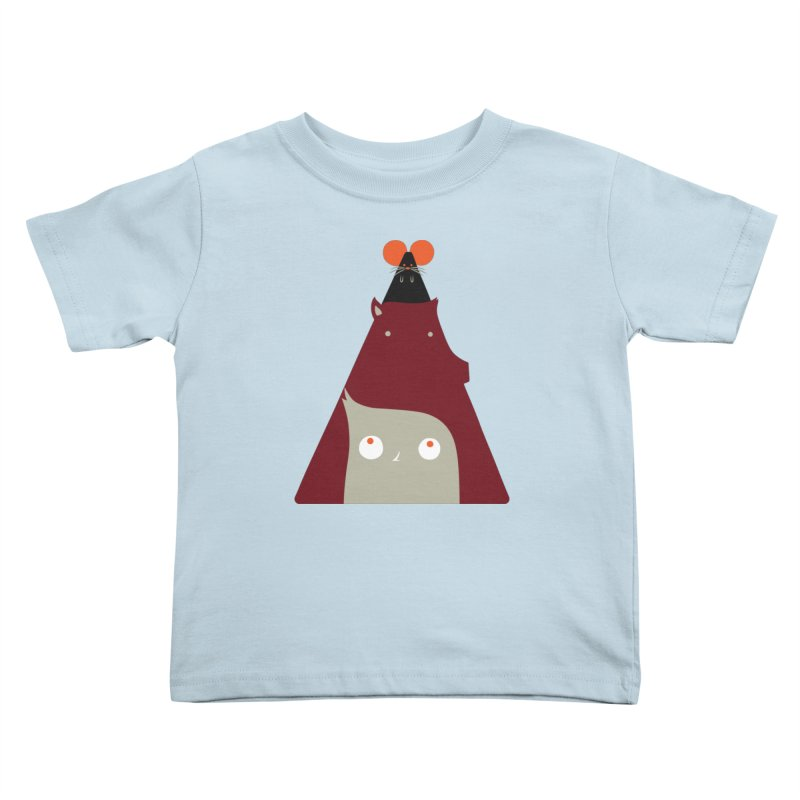 All Together Now Kids Toddler T-Shirt by Emporio de Mutanthands