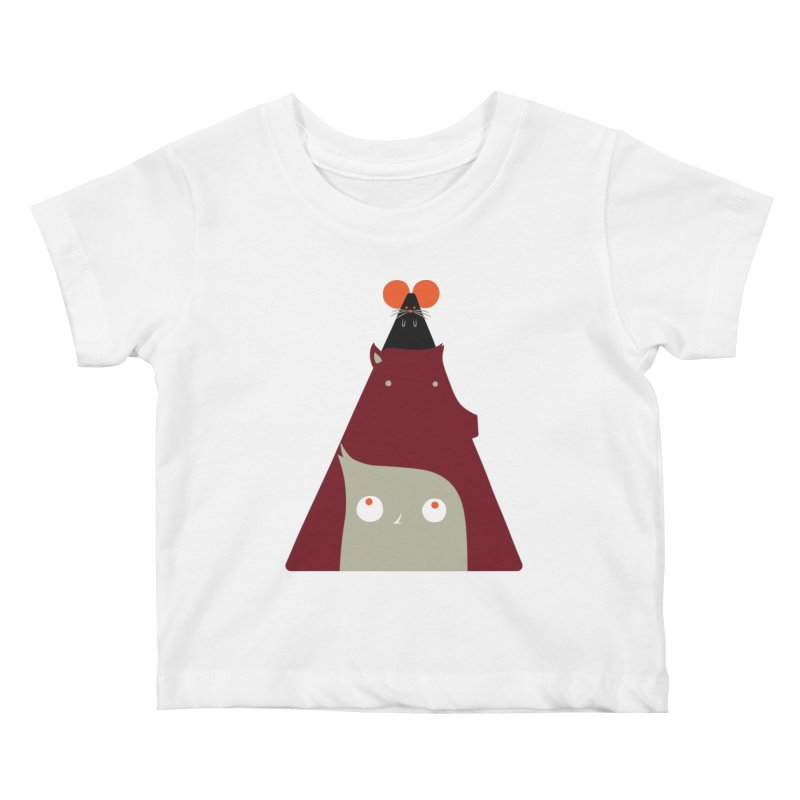 All Together Now Kids Baby T-Shirt by Emporio de Mutanthands