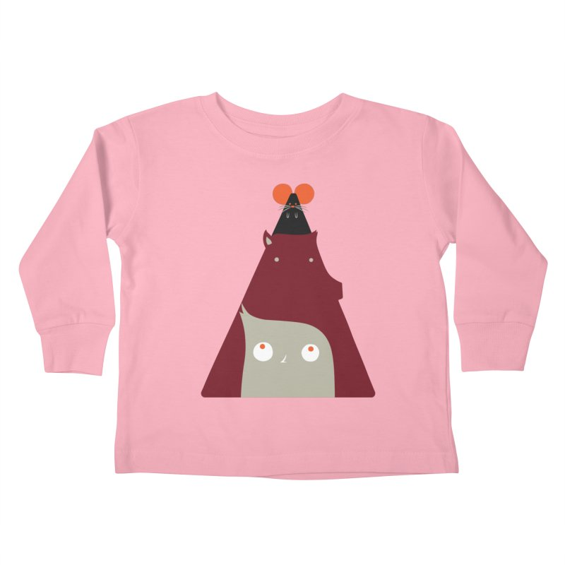 All Together Now Kids Toddler Longsleeve T-Shirt by Emporio de Mutanthands