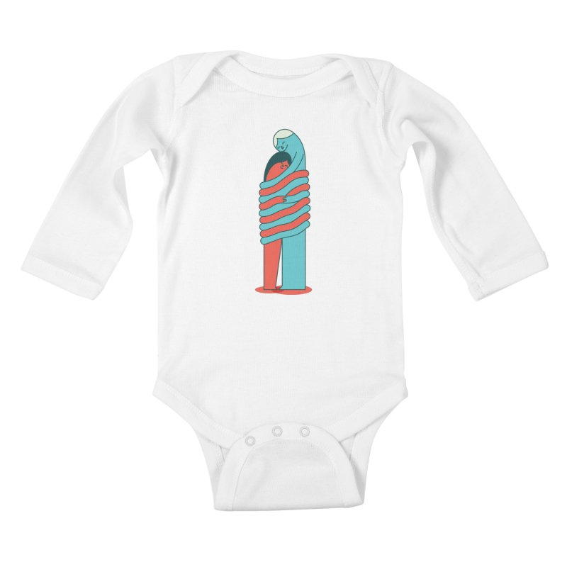 Cuddle Kids Baby Longsleeve Bodysuit by Emporio de Mutanthands