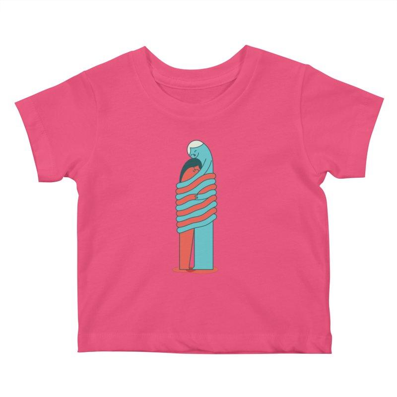 Cuddle Kids Baby T-Shirt by Emporio de Mutanthands