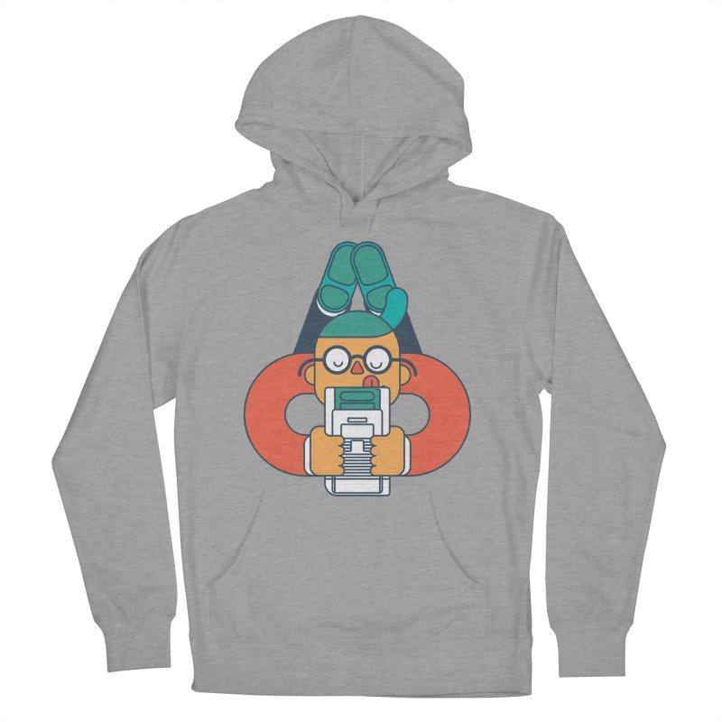 Gameboy Women's French Terry Pullover Hoody by Emporio de Mutanthands