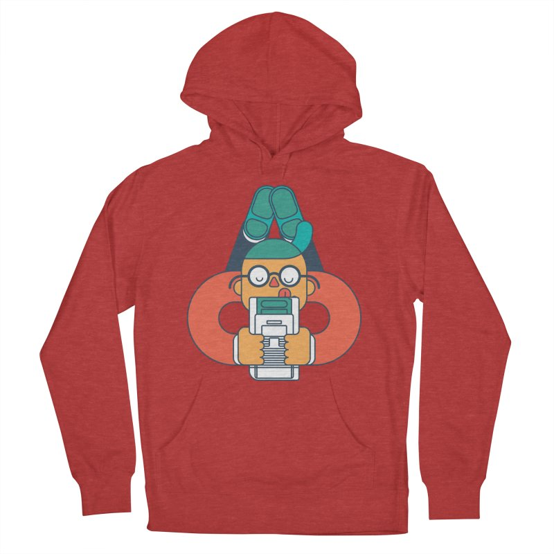 Gameboy Men's French Terry Pullover Hoody by Emporio de Mutanthands