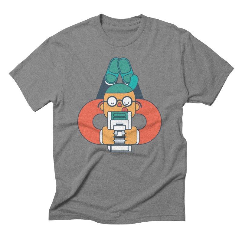 Gameboy Men's Triblend T-Shirt by Emporio de Mutanthands