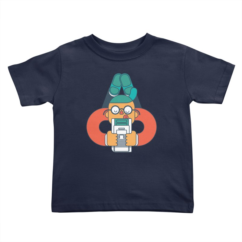 Gameboy Kids Toddler T-Shirt by Emporio de Mutanthands