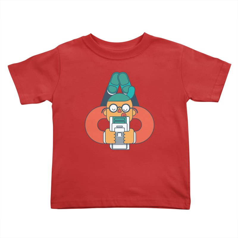 Gameboy Kids Toddler T-Shirt by Emporio de Mutanthands
